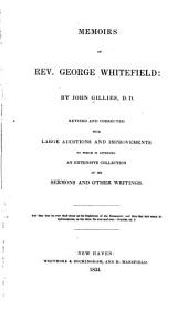 Memoirs of Rev. George Whitefield