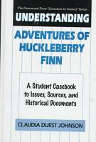 Understanding Adventures of Huckleberry Finn PDF
