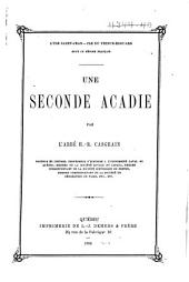 Une seconde Acadie