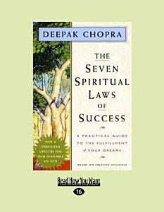 The Seven Spiritual Laws of Success Book