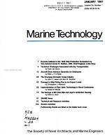 Marine Technology and SNAME News PDF