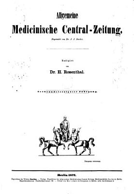 Allgemeine Medizinische Zentral Zeitung0