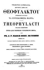Patrologiæ cursus completus: seu, Bibliotheca universalis, integra, uniformis, commoda, oeconomica omnium SS. patrum, doctorum, scriptorumque ecclesiasticorum. Series græca, Volume 123