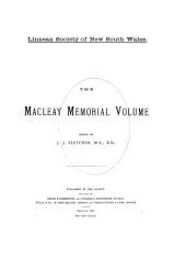 The Macleay Memorial Volume