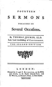 Fourteen Sermons Preached on Several Occasions