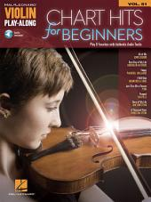 Chart Hits for Beginners: Violin Play-Along, Volume 51