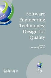 Software Engineering Techniques: Design for Quality