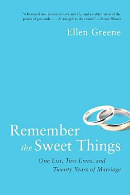 Remember the Sweet Things PDF