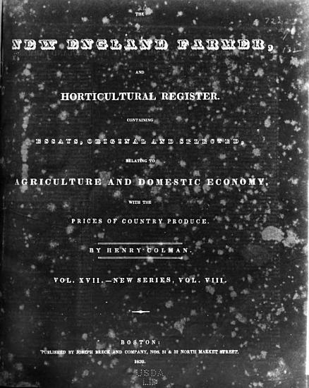 New England Farmer  and Gardener s Journal PDF