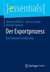 Der Exportprozess: Eine kompakte Einführung