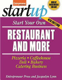 Start Your Own Restaurant Business and More 4/E