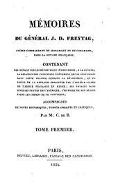 Memoires ... contenant des details sur les deportes du 18 Fructidor (etc.)