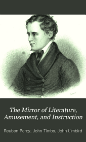 The Mirror of Literature, Amusement, and Instruction: Volume 24