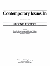 Contemporary Issues in Bioethics PDF