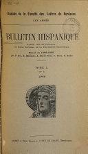 Download Bulletin hispanique Book
