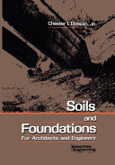 Soils and Foundations for Architects and Engineers PDF