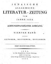 Jenaische allgemeine Literatur-Zeitung: Band 182