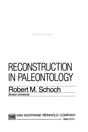 Phylogeny Reconstruction in Paleontology