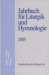 Jahrbuch fur Liturgik und Hymnologie: Band 44