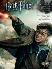 Harry Potter: Sheet Music from the Complete Film Series for Big Note Piano