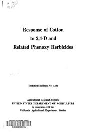 Response of Cotton to 2,4-D and Related Phenoxy Herbicides