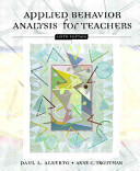 Applied Behavior Analysis For Teachers Book PDF