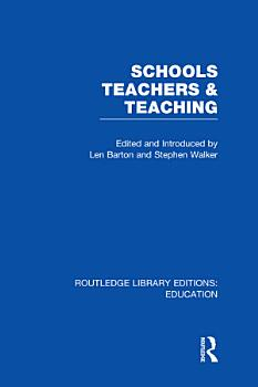 Schools  Teachers and Teaching  RLE Edu N  PDF