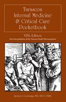 Tarascon Internal Medicine   Critical Care Pocketbook PDF
