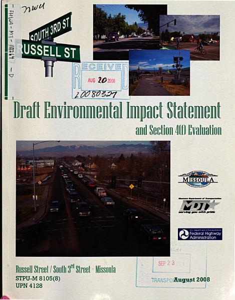 Russell Street/South 3rd Street, Missoula County