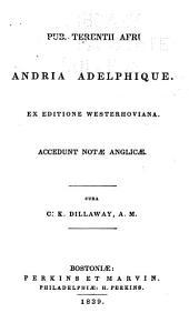 Andria Adelphique: ex editione Westerhoviana accedunt notae Anglicae