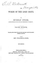 The Words of the Lord Jesus: Volumes 7-8