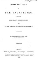 Dissertations on the Prophecies PDF