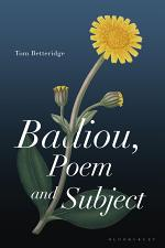 Badiou, Poem and Subject
