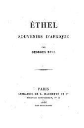 Ethel: souvenirs d'Afrique