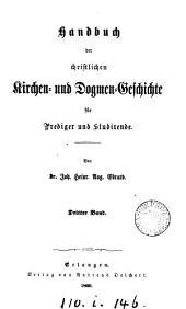 Handbuch der christlichen Kirchen- und Dogmen-Geschichte