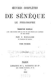 Oeuvres complètes de Sénèque le philosophe