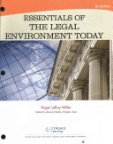 Essentials of the Legal Environment Today Book