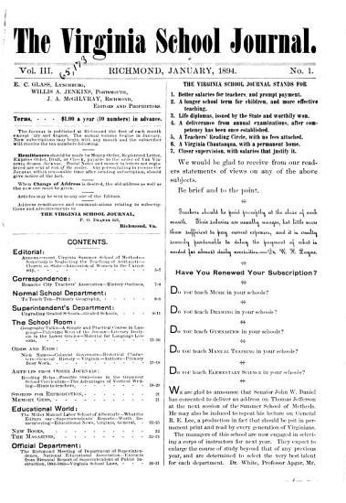 The Virginia School Journal PDF
