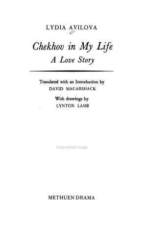 Chekhov in My Life