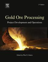 Gold Ore Processing PDF