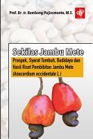 Sekilas Jambu Mete  Prospek  Syarat Tumbuh  Budidaya dan Hasil Riset Pembibitan Jambu Mete  Anacardium occidentale L   PDF