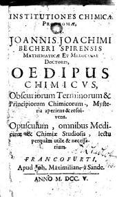 Oedipus chimicus