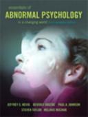 Essentials of Abnormal Psychology PDF