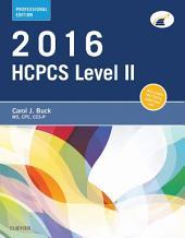 2016 HCPCS Level II Professional Edition