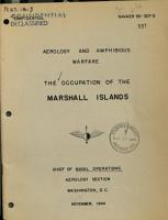 Occupation of the Marshall Islands ds PDF