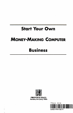 Start Your Own Money-Making Computer Business