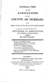 Agricultural Surveys: Durham (1813)