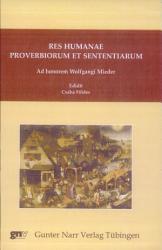 Res humanae proverbiorum et sententiarum PDF