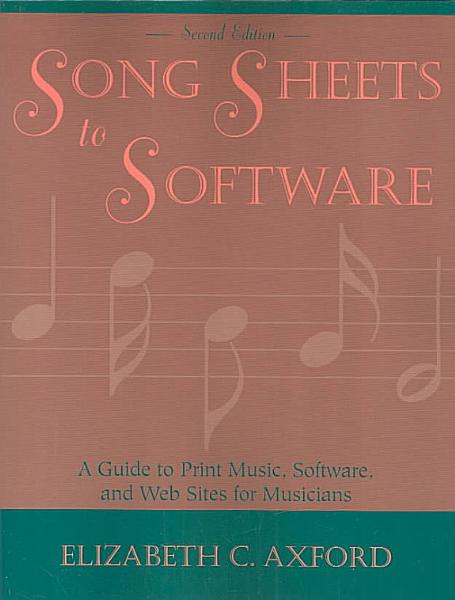 Song Sheets to Software PDF