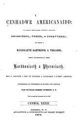 Y Cenhadwr americanaidd: Volume 32